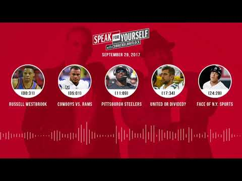 SPEAK FOR YOURSELF Audio Podcast (9.29.17) with Colin Cowherd, Jason Whitlock | SPEAK FOR YOURSELF