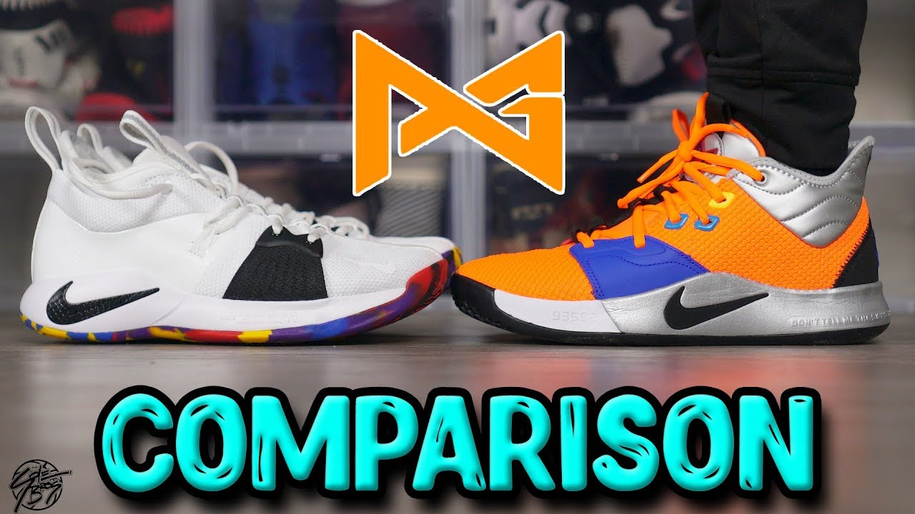 5fafd103ebed Nike PG 2   PG 3 Comparison! - YouTube