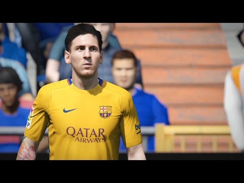 FIFA 16 Demo Gameplay PS4 #1 FC Chelsea F.C. - FC Barcelona