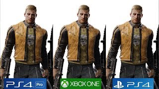 Wolfenstein 2: The New Colossus - PS4 Pro vs PS4 vs Xbox One Graphics Comparison [4K/60FPS]