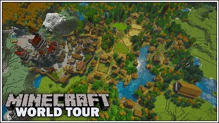 MINECRAFT SURVIVAL WORLD TOUR - END OF THE SEASON!!! [Minecraft 1.15 Survival Let's Play]