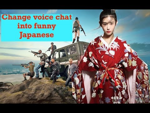 Simple Way To Change Quick Chat Msg To Pubg Mobile Japanese Funny Chat | PUBGM Funny Voice Chat