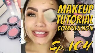 How to be beautiful easy MAKEUP TUTORIAL #104 Compilation October 2018