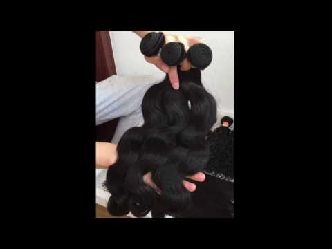 "Wholesale price brazilian human hair natural color body wave 10"" -30"" in stock no tangle no shed"