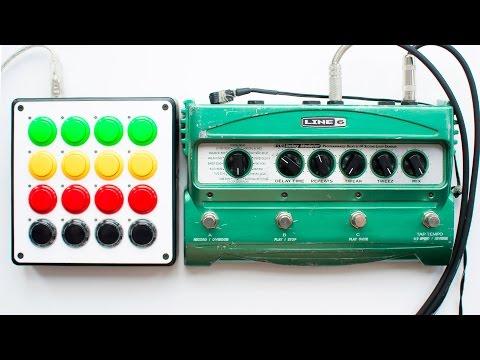 Line 6 - DL4 Loop Sampler Mode (feat. DJTECHTOOLS MIDI Fighter)