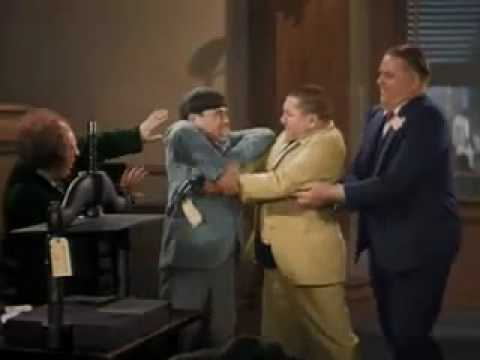 The Three Stooges - Disorder in the Court in Colour Part 2