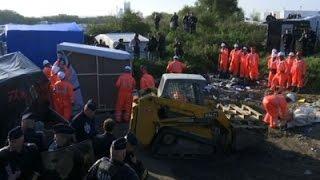 France Refugee Camp Dismantled