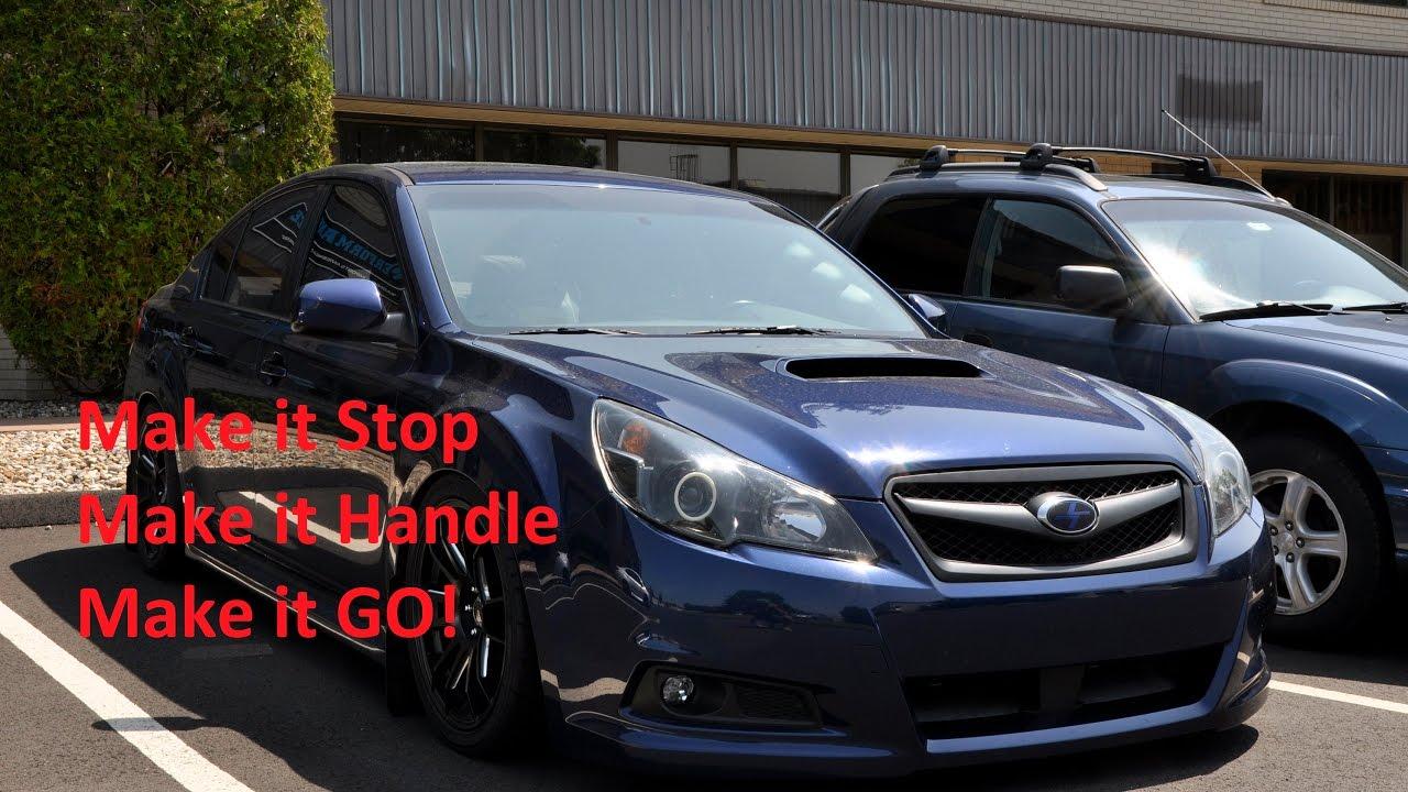 Subaru Legacy 2 5gt Vlog Where To Start With Modding Youtube