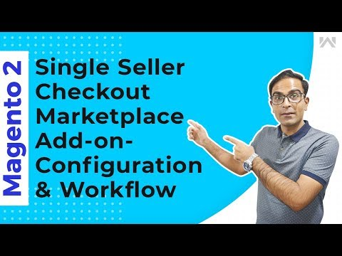 Magento 2 Single Seller Checkout Marketplace Add-On - Config. & Workflow thumbnail
