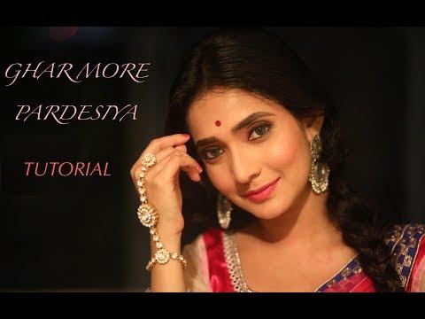 Ghar More Pardesiya Dance Tutorial | Kalank