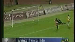 FECHA  10  AMÉRICA  2  vs  ATLÉTICO  BUCARAMANGA  0  -  SEMESTRE  1  DE  2002