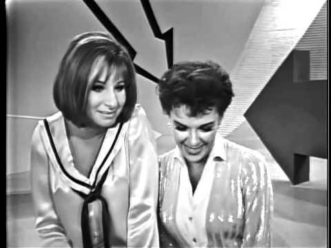 JUDY GARLAND AND BARBRA STREISAND - Happy Days Are Here Again