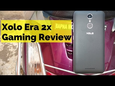 Xolo Era 2x 4g VoLTE Smartphone - Gaming Review In Hindi [HD Games]