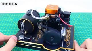 Test thử Động Cơ 4 Thì dùng cho xe điều khiển