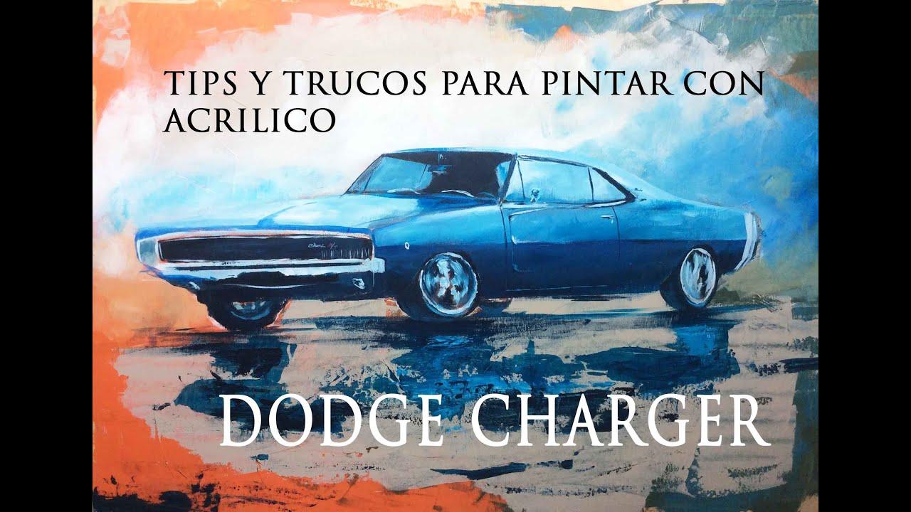 Tips y trucos para pintar con acrilico dodge charger youtube - Trucos para pintar techos ...