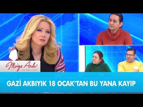 Gazi Akbıyık 18 Ocak'tan bu yana kayıp  - Müge Anlı ile Tatlı Sert 14 Şubat 2019