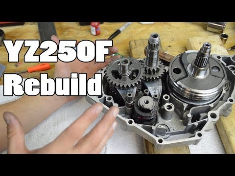 How-To: YZ250F WR250 Top & Bottom End Rebuild – How-To Motorcycle Repair