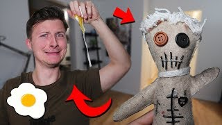 PRANKING BEST FRIEND WITH HIS OWN VOODOO DOLL AT 3 AM!! (YOU WON'T BELIEVE THIS HAPPENED!)