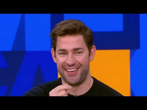 John Krasinski Interview on Dream Corp LLC, Gets Ben Affleck Surprise
