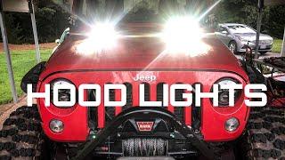 Hood Lights For A Jeep Wrangler