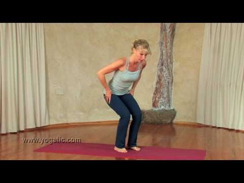 Yoga Pose : Utkatasana or Chair Pose