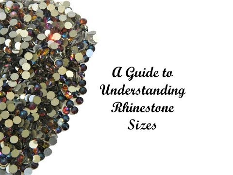 A Guide to Understanding Rhinestone Sizes Part 1 An Introduction to Rhinestones and Flatback Pearls