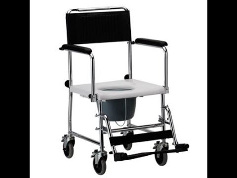 Shower Transport Chair Commode Aids For Mobility NOVA 8805 Drop ...
