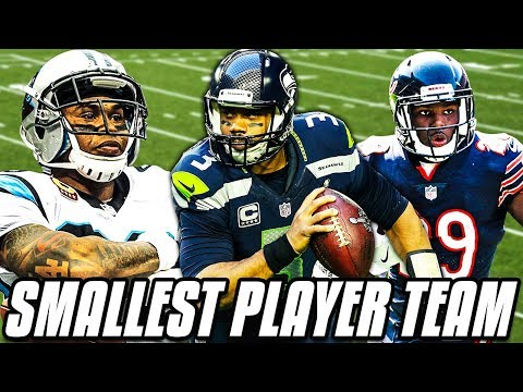 SMALLEST PLAYER TEAM! GREATEST RUN EVER! Madden 19 Ultimate Team