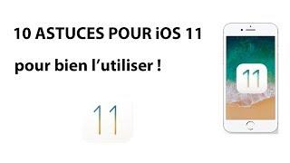10 astuces sur iOS 11 ! (dark mode/filmer son écran...)
