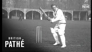 South African Cricket Practice (1920-1929)
