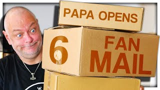 PAPANOMALY OPENING FAN MAIL 6 (GONE WRONG)