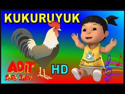 Adit Sopo Jarwo ✰ Lagu KUKURUYUK  ✰ Lagu Anak Indonesia Populer Sepanjang Masa