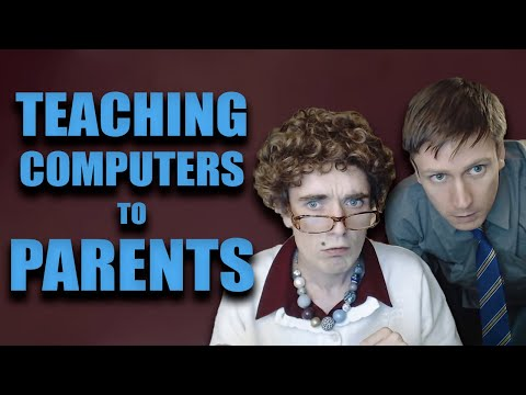 Teaching Computers to Parents -  Foil Arms and Hog