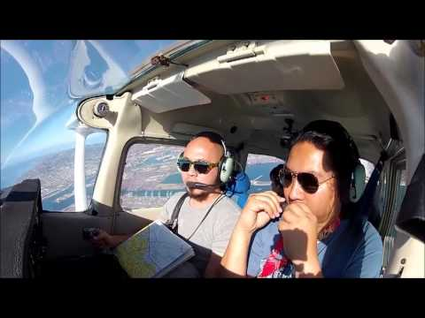 In Flight Session - Long Beach to Catalina