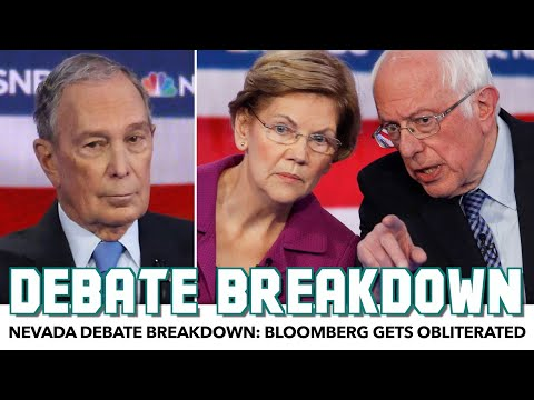 Nevada Debate Breakdown: Bloomberg Gets Obliterated