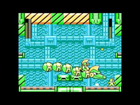 Mega Man Rock Force - The Hall of Justice Stage 1