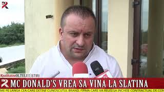 McDonald's vrea să vină la Slatina