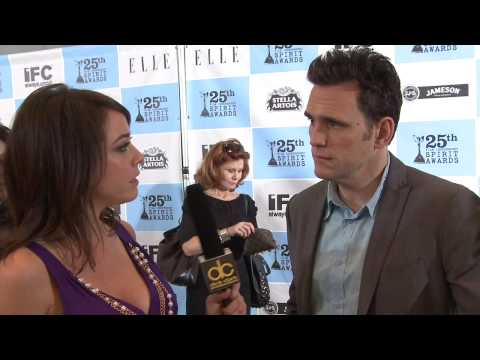 Matt Dillon Interview @ the Film Independent Spirit Awards Nominations Press Conference