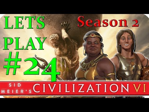 Civilization 6 - Part 24 - FEELING LOST - Civ 6 Hotseat Multiplayer Gameplay (Season 2)
