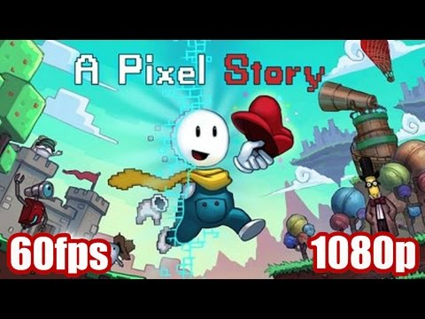 A Pixel Story Gameplay - Indie Action Adventure 2015 PC Game 1080p 60fps Let's Play