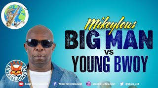 Mikeylous - Big Man Vs Young Boy [Audio Visualizer]