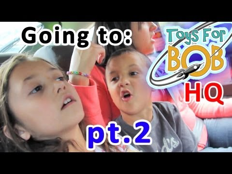 Part 2 of Going to Toys for Bob HQ in California