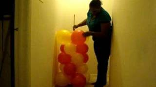 Make your own Balloon Column