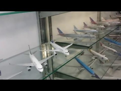 Troy's Toy's Store Display of Diecast Models