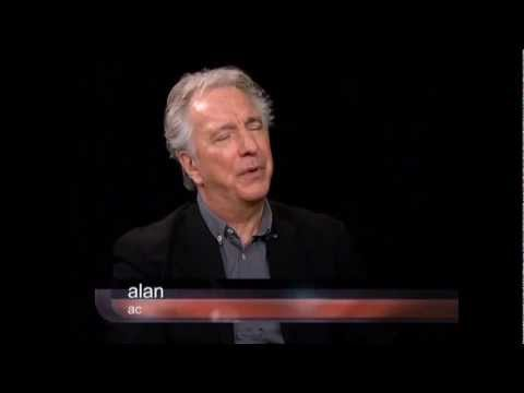 Alan Rickman - Charlie Rose Interview 28.2.12