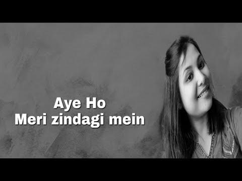 aye-ho-meri-zindagi-mein|amir-khan|karisma-kapoor|cover|niribili-kakoti(plz-use-headphones)