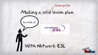 Esl Lesson Planning