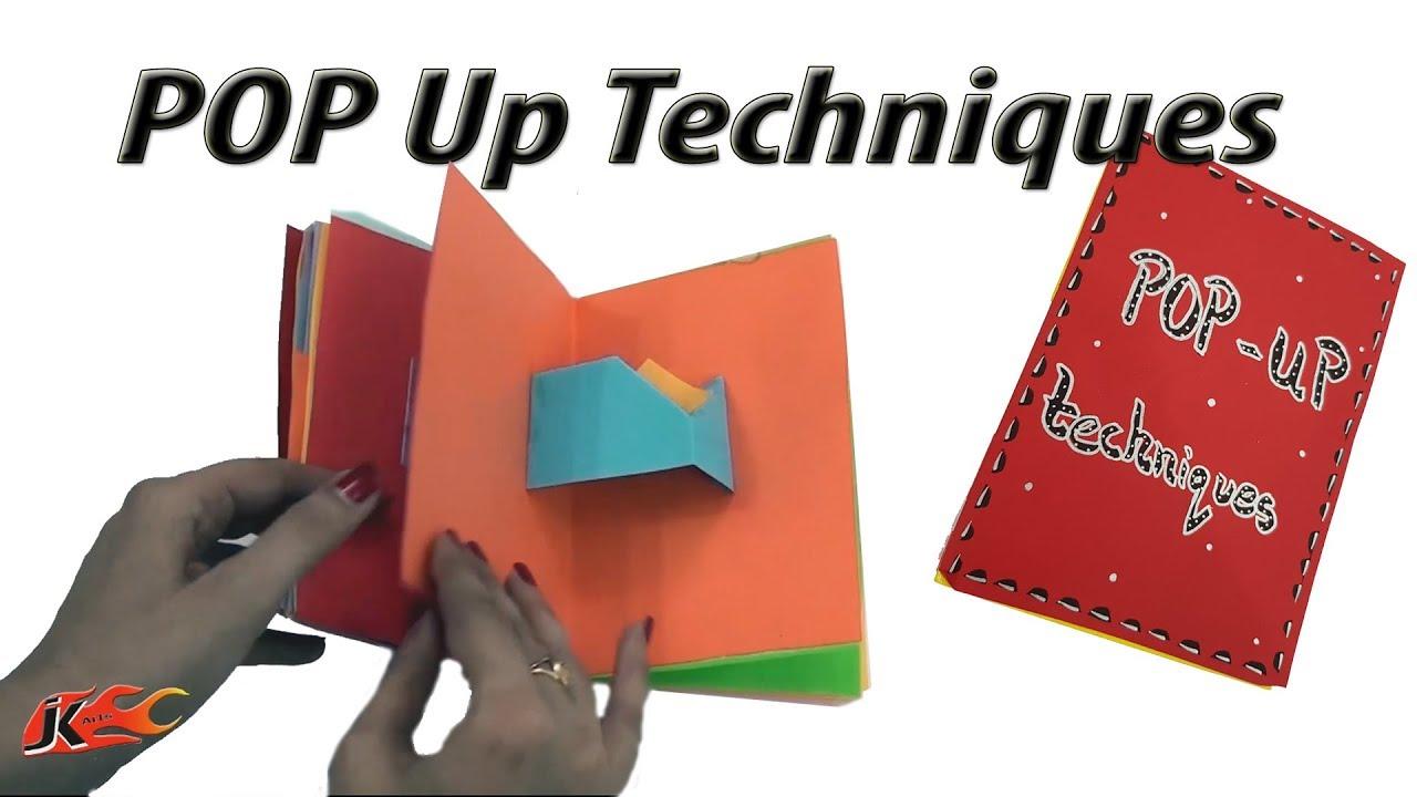 23 Pop Ups Card Techniques Diy Popup Scrapbook Jk Arts 1389