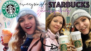 WE TRIED DRINKING IN EVERY STARBUCKS IN NEW YORK IN 24H *massive fail*