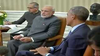 PM Modi & US President Barack Obama at the Joint Press Conference at White House
